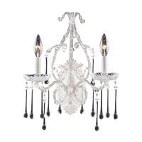 ELK Lighting Opulence 2 Light Sconce in Antique White 4000/2CL