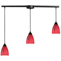 ELK Lighting Classico 3 Light Pendant in Dark Rust 406-3L-FR