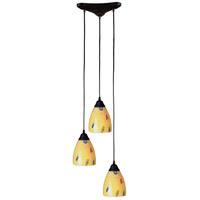 ELK Lighting Classico 3 Light Pendant in Dark Rust 406-3YW