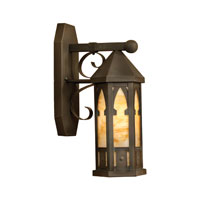 Hathaway 1 Light 18 inch Charcoal Outdoor Wall Sconce