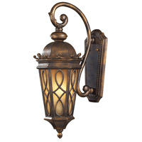 Burlington Junction 2 Light 23 inch Hazelnut Bronze Outdoor Sconce in Standard