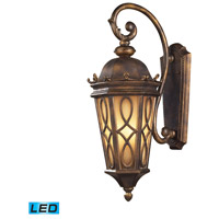 ELK Lighting Burlington Junction 3 Light Outdoor Wall Sconce in Hazelnut Bronze 42002/3-LED
