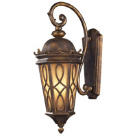 Burlington Junction 3 Light 27 inch Hazelnut Bronze Outdoor Sconce in Standard
