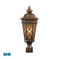 ELK Lighting Burlington Junction 2 Light Outdoor Wall Sconce in Hazelnut Bronze 42004/2-LED