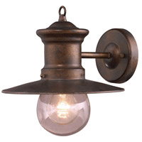 Maritime 1 Light 10 inch Hazelnut Bronze Outdoor Sconce
