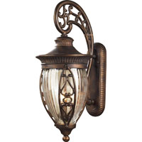 ELK Lighting Essex Way 3 Light Outdoor Sconce in Hazelnut Bronze 42022/3