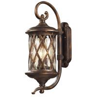 Barrington Gate 2 Light 24 inch Hazelnut Bronze Outdoor Sconce