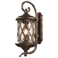 ELK 42032/3 Barrington Gate 3 Light 15 inch Hazelnut Bronze Outdoor Wall Sconce