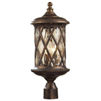 ELK Lighting Barrington Gate 2 Light Outdoor Post Light in Hazelnut Bronze 42034/2 photo thumbnail