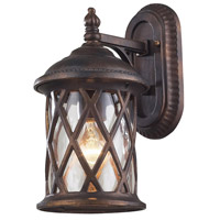 ELK 42035/1 Barrington Gate 1 Light 13 inch Hazelnut Bronze Outdoor Wall Sconce