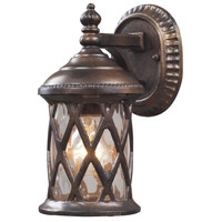 ELK 42036/1 Barrington Gate 1 Light 10 inch Hazelnut Bronze Outdoor Wall Sconce
