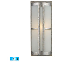 ELK 42095/1-LED Trevot LED 17 inch Sunset Silver Outdoor Sconce