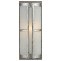 ELK 42095/1 Trevot 1 Light 17 inch Sunset Silver Outdoor Sconce in Incandescent