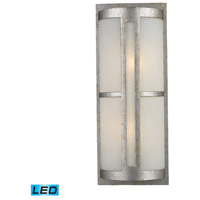 ELK Lighting Trevot 2 Light Outdoor Wall Sconce in Sunset Silver 42096/2-LED