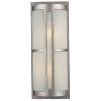 Trevot 2 Light 22 inch Sunset Silver Outdoor Sconce in Standard