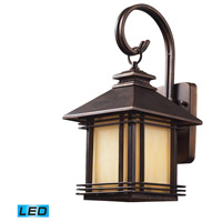 ELK Lighting Blackwell 1 Light Outdoor Wall Sconce in Hazelnut Bronze 42100/1-LED
