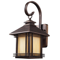 ELK 42100/1 Blackwell 1 Light 16 inch Hazelnut Bronze Outdoor Wall Sconce in Incandescent