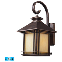 ELK Lighting Blackwell 1 Light Outdoor Wall Sconce in Hazelnut Bronze 42101/1-LED