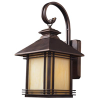 ELK 42101/1 Blackwell 1 Light 19 inch Hazelnut Bronze Outdoor Sconce in Standard