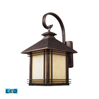 ELK Lighting Blackwell 1 Light Outdoor Wall Sconce in Hazelnut Bronze 42102/1-LED