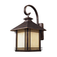 Blackwell 1 Light 22 inch Hazelnut Bronze Outdoor Sconce in Standard