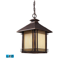 ELK 42103/1-LED Blackwell LED 11 inch Hazelnut Bronze Outdoor Hanging Lantern