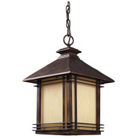 ELK 42103/1 Blackwell 1 Light 11 inch Hazelnut Bronze Outdoor Pendant in Standard