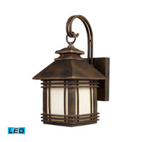 ELK Lighting Blackwell 1 Light Outdoor Wall Sconce in Hazelnut Bronze 42105/1-LED