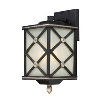 ELK Lighting Chaumont 1 Light Outdoor Sconce in Matte Black 42130/1