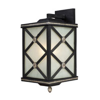 ELK Lighting Chaumont 1 Light Outdoor Sconce in Matte Black 42132/1 photo thumbnail