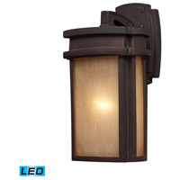 ELK Lighting Sedona 1 Light Outdoor Wall Sconce in Clay Bronze 42140/1-LED