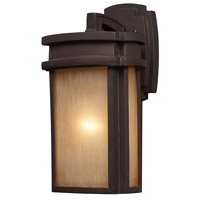 Sedona 1 Light 13 inch Clay Bronze Outdoor Sconce in Standard