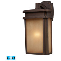 ELK Lighting Sedona 1 Light Outdoor Wall Sconce in Clay Bronze 42141/1-LED