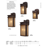ELK 42141/1-LED Sedona LED 16 inch Clay Bronze Outdoor Sconce alternative photo thumbnail