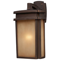 ELK 42141/1 Sedona 1 Light 16 inch Clay Bronze Outdoor Sconce in Standard photo thumbnail