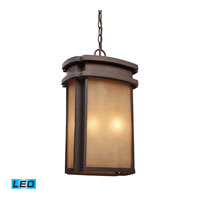 Sedona LED 11 inch Clay Bronze Outdoor Pendant