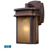 Sedona LED 10 inch Hazelnut Bronze Outdoor Wall Sconce