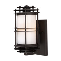 ELK Lighting Burbank 1 Light Outdoor Sconce in Clay Bronze 42150/1 photo thumbnail