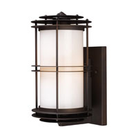 ELK Lighting Burbank 1 Light Outdoor Sconce in Clay Bronze 42151/1