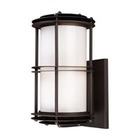 ELK Lighting Burbank 1 Light Outdoor Sconce in Clay Bronze 42152/1