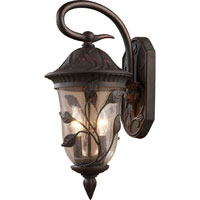 ELK Lighting Kimberton Ridge 2 Light Outdoor Sconce in Clay Bronze 42160/2