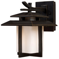 ELK 42170/1 Kanso 1 Light 11 inch Hazelnut Bronze Outdoor Wall Sconce in Incandescent