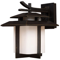ELK Lighting Kanso 1 Light Outdoor Sconce in Hazelnut Bronze 42171/1