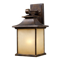 San Gabriel 1 Light 16 inch Hazelnut Bronze Outdoor Sconce in Standard