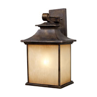 ELK Lighting San Gabriel 1 Light Outdoor Sconce in Hazelnut Bronze 42182/1