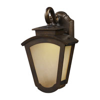 ELK Lighting Porter LED Outdoor Sconce in Hazelnut Bronze 42240/1
