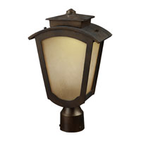 ELK Lighting Porter 1 Light Outdoor Post Light in Hazelnut Bronze 42243/1