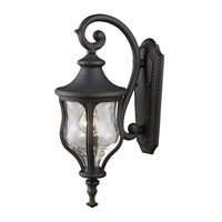 ELK Lighting Grand Aisle 1 Light Outdoor Sconce in Weathered Charcoal 42250/1 photo thumbnail