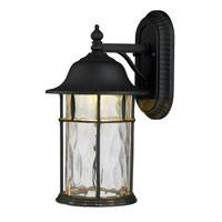 ELK Lighting Lapuente 1 Light Outdoor Sconce in Matte Black 42261/1
