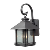 ELK Lighting Blackwell 1 Light Outdoor Sconce in Graphite 42300/1